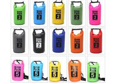 China Sport PVC Waterproof Dry Bag Ocean Pack Dry Bag Survival Gear 5L / 10L / 15L / 20L supplier