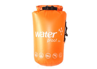 China 2018 Go Outdoors PVC Waterproof Dry Bag , Best Dry Duffle Bags For Backpacking supplier