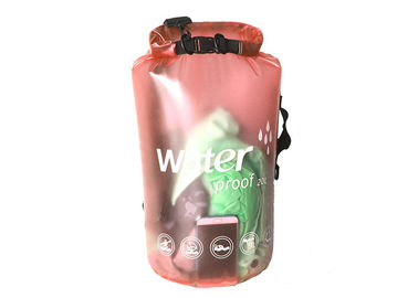 China Dry Bag With Shoulder Straps , Large Waterproof Storage Bags For Camping supplier