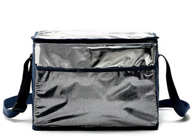 China Colored Thermal Lunch Tote Bags Aluminum Foil For Men Wowen And Children supplier
