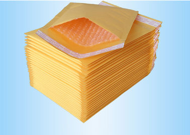 China Custom Printed Mailing Bags , Kraft Paper With Bubble Wrap Envelopes factory