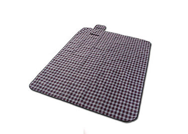 China Polyester Peva Backing Waterproof Picnic Mat For Outdoor Multi Color factory
