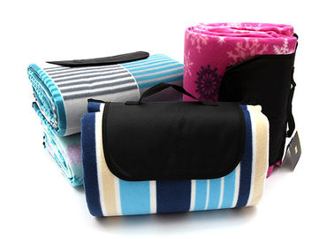China Lightweight Waterproof Picnic Mat , Flannel Picnic Blanket For Travel distributor