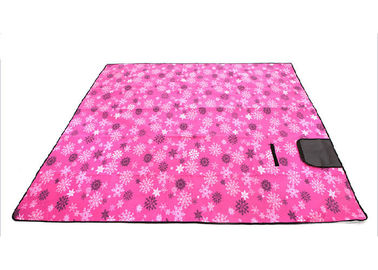 China Extra Large Padded Fleece Picnic Blanket With Waterproof Backing For Family distributor