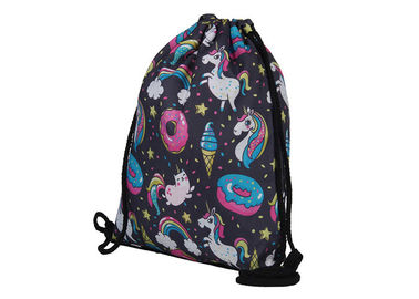 China Online Order Drawstring Bag Backpack , Backpack Sack Bags With Custom Design factory