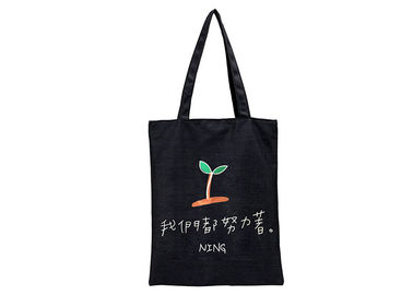 China Cotton Canvas Bulk Size White Color Cheap Plain Tote Bags For Printing factory