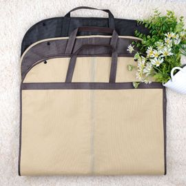 China Custom Size Hanging Garment Bag Carry On , Stock Clothes Bags For Travel distributor