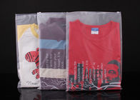 Garment Reclosable Plastic Bags , Zip Lock Poly Bags For Shipping Clothes