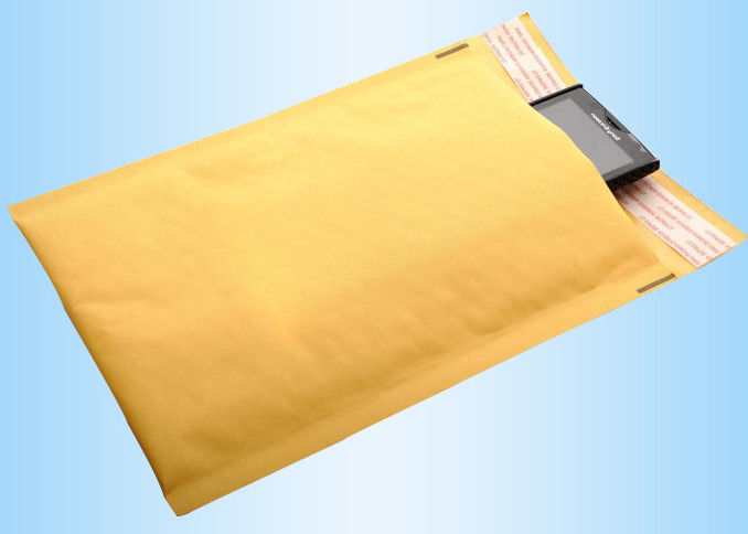 Custom Parcel Packaging Bags Printed Mailling Bags , Kraft Large Parcel Bags For Security Shipping