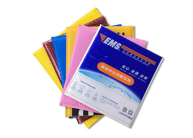 Multiple Choices Polythene Mailing Bags , Bubble Envelopes Poly Bags For Shipping