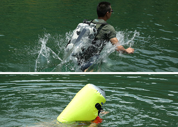 Clear Waterproof Canoe Bags , Water Resistant Boat Bag For Electronic Products