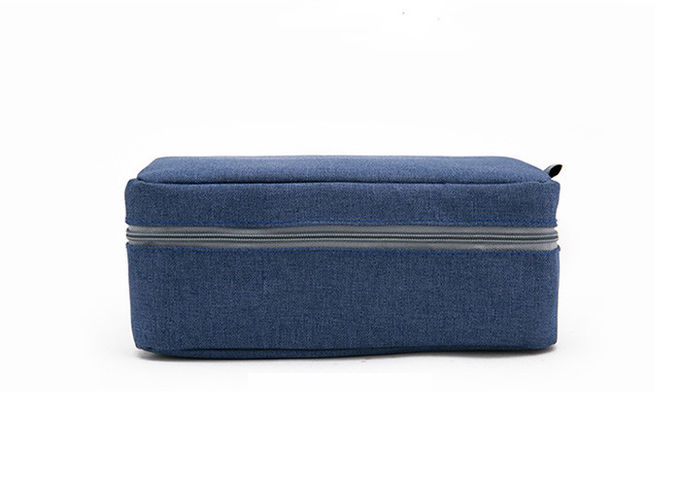 Folding Large Hanging Toiletry Bag With Compartments For Women 22 * 17 * 9cm