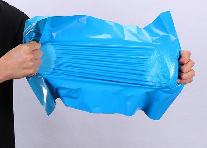 Black Plastic Mailing Bags , Plastic Postage Bags For Shipping Box