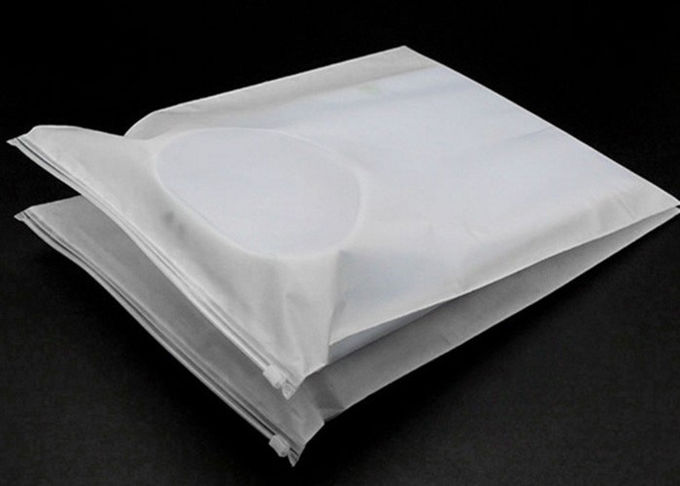 T Shirt Garment Plastic Packaging Bags , Clear Plastic Bags With Custom Service